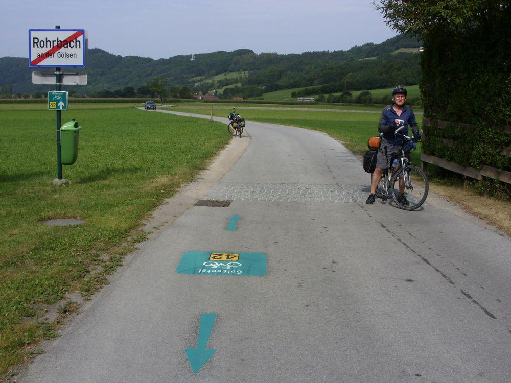 Kerékpártúra Alsó Ausztriában és a Duna kerékpárúton – Fotók: Karlik Imre és Horváth Tivadar