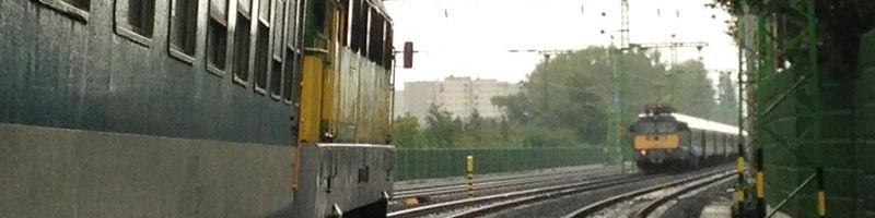 Szemtől szemben a vonatok