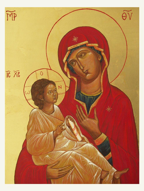 Nagy Zsolt: Hodigitria típusú Mária ikon