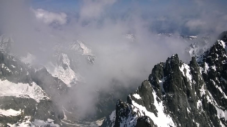 Látképek a Lomnici-csúcsról