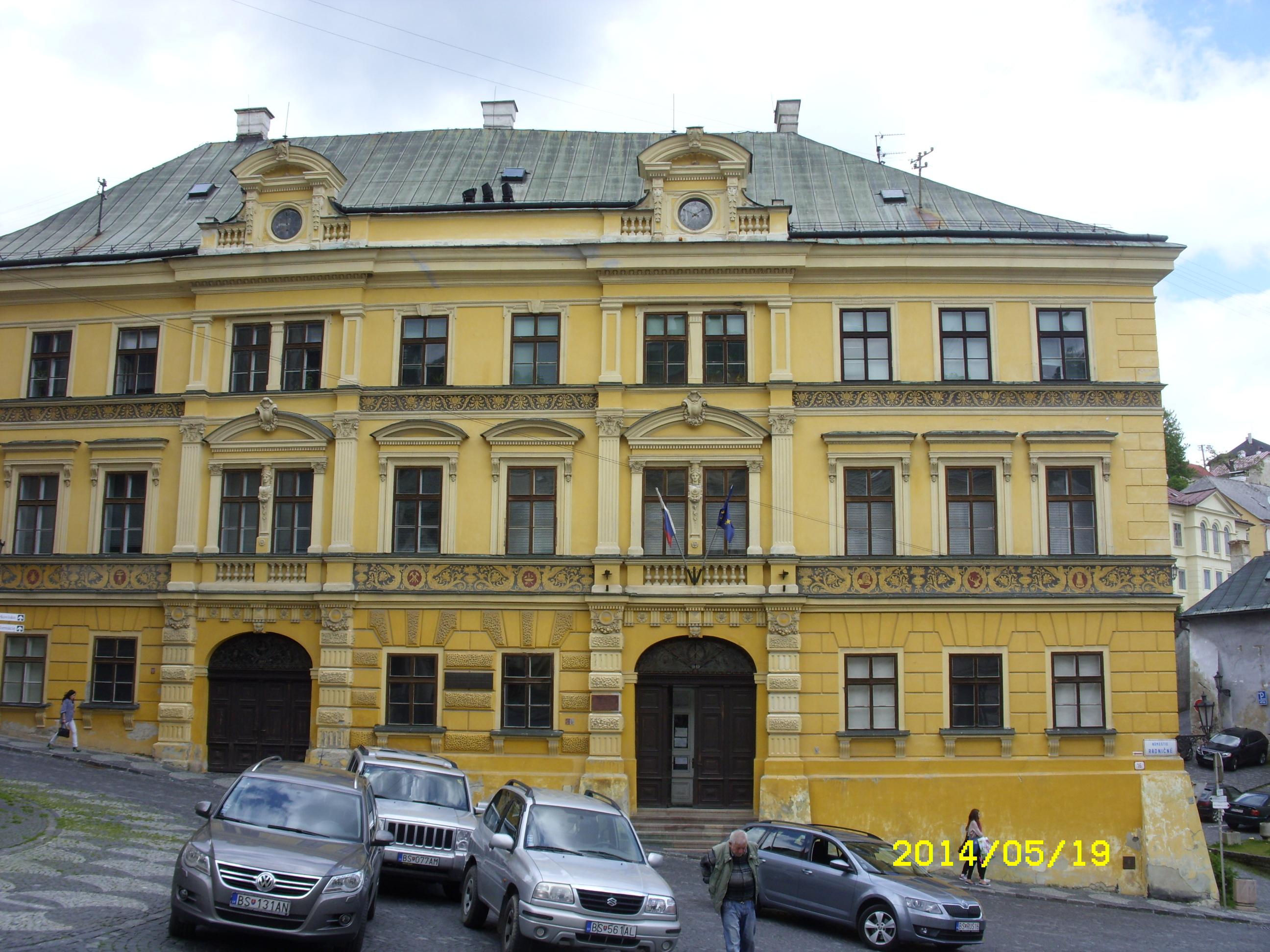Selmecbányai épületek - Fotó: Karlik Imre
