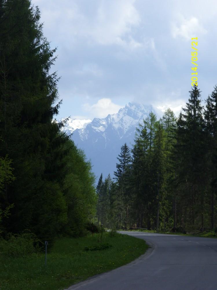 Útban Podbánszkó felé - Fotó: Karlik Imre