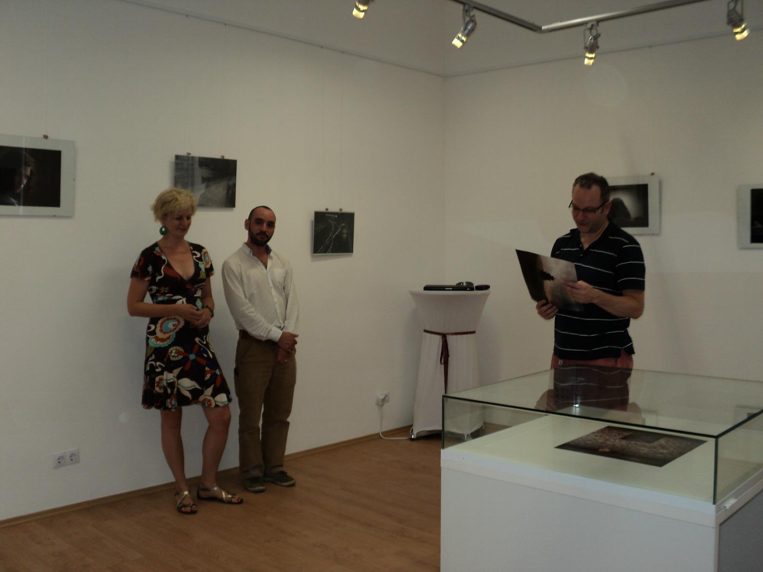 A SIGIL Galéria és Kávézó Nagymaroson - Fotó: Kovács Gabriella