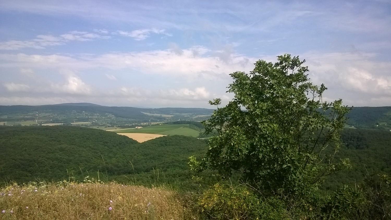 Kilátás a Hegyestűről, Monoszló közelében - Fotó: Horváth Tivadar