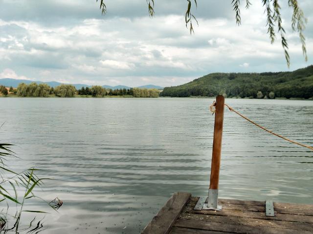 A nőtincsi horgász tó - Fotó: Kovács Gabriella