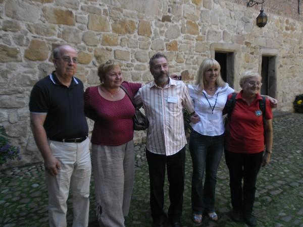 7. Károly, Ewa és lengyel vendéglátóink