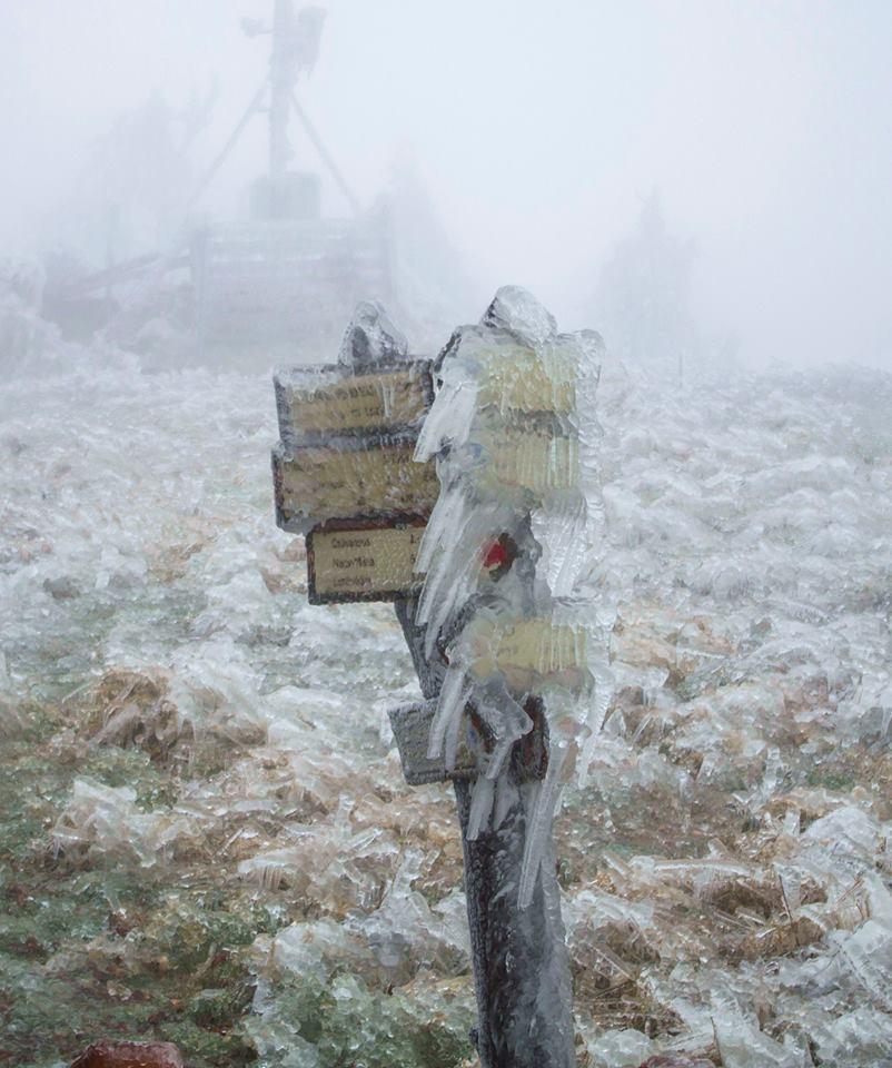 jég a nagy-hideg hegyen