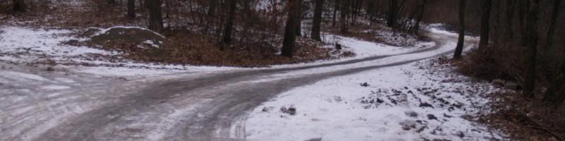 Téli útszemle Kismaroson