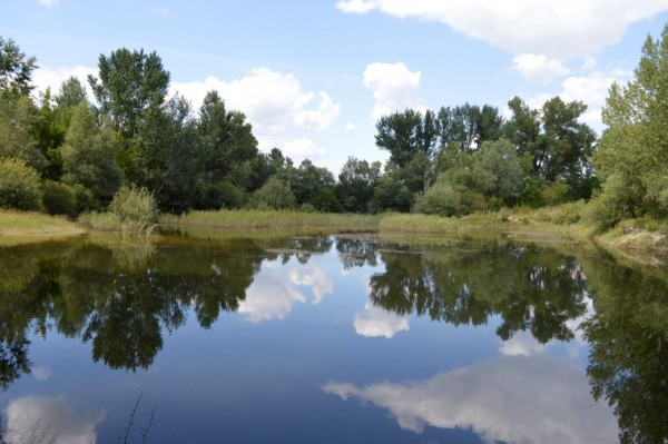 Látkép a vízkelői tanösvényről