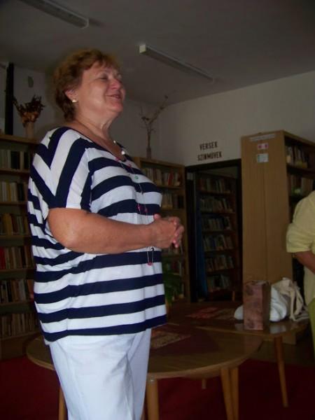 Az ipolysági könyvtárban