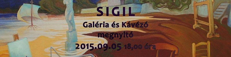 Jankovics János László kiállítása a Sigilben