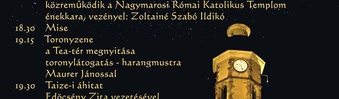 Nyitott templomok éjszakája Nagymaroson