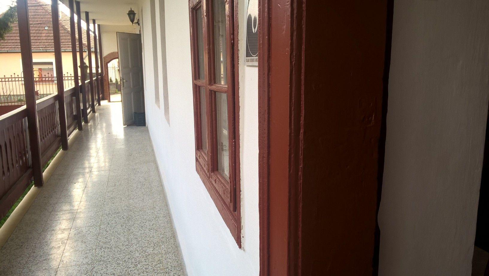 A sváb parasztház elmaradhatatlan verandája