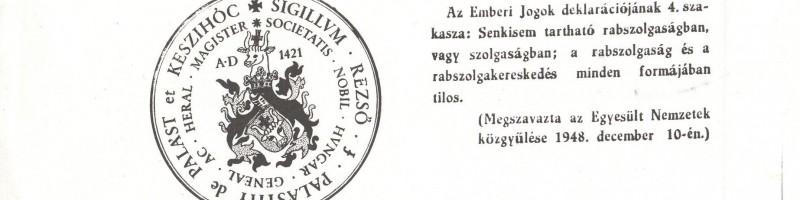 The White Book – A magyar emigráció küzdelme a Szovjetunióba elhurcolt hadifoglyok hazaszállításáért