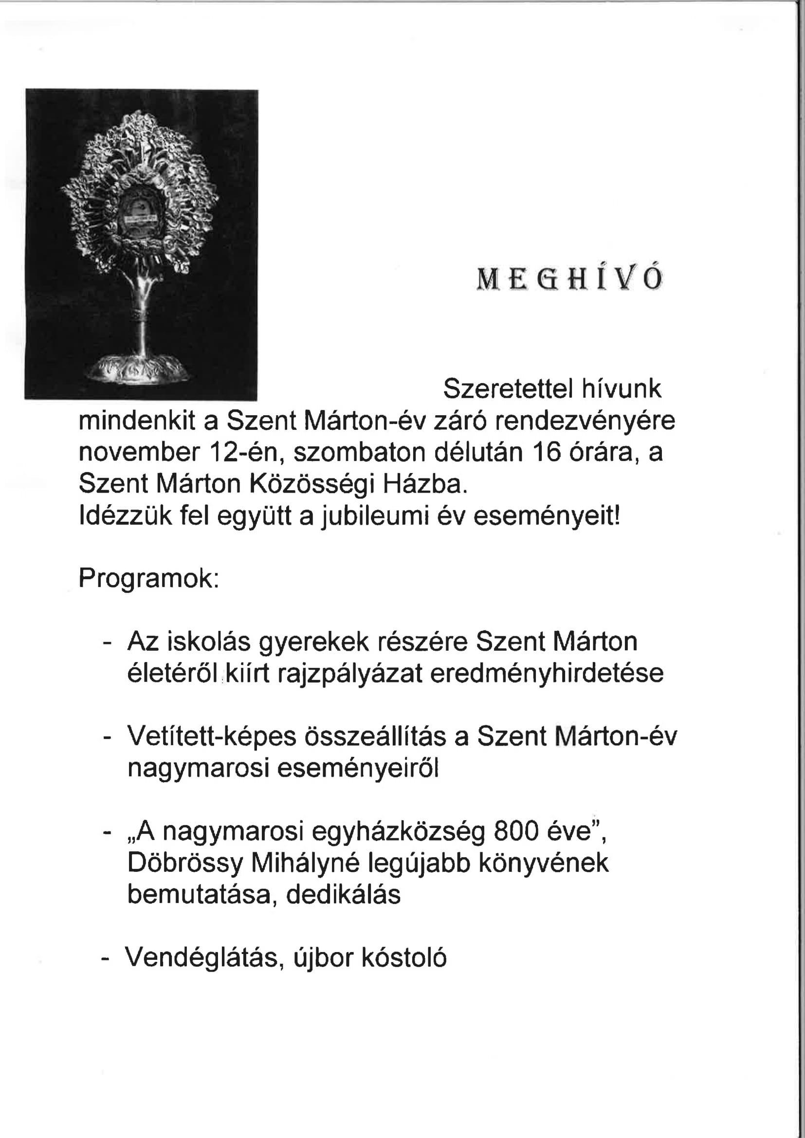 Döbrössy_Kriszta_ meghívó Nagymaros_november 12-1