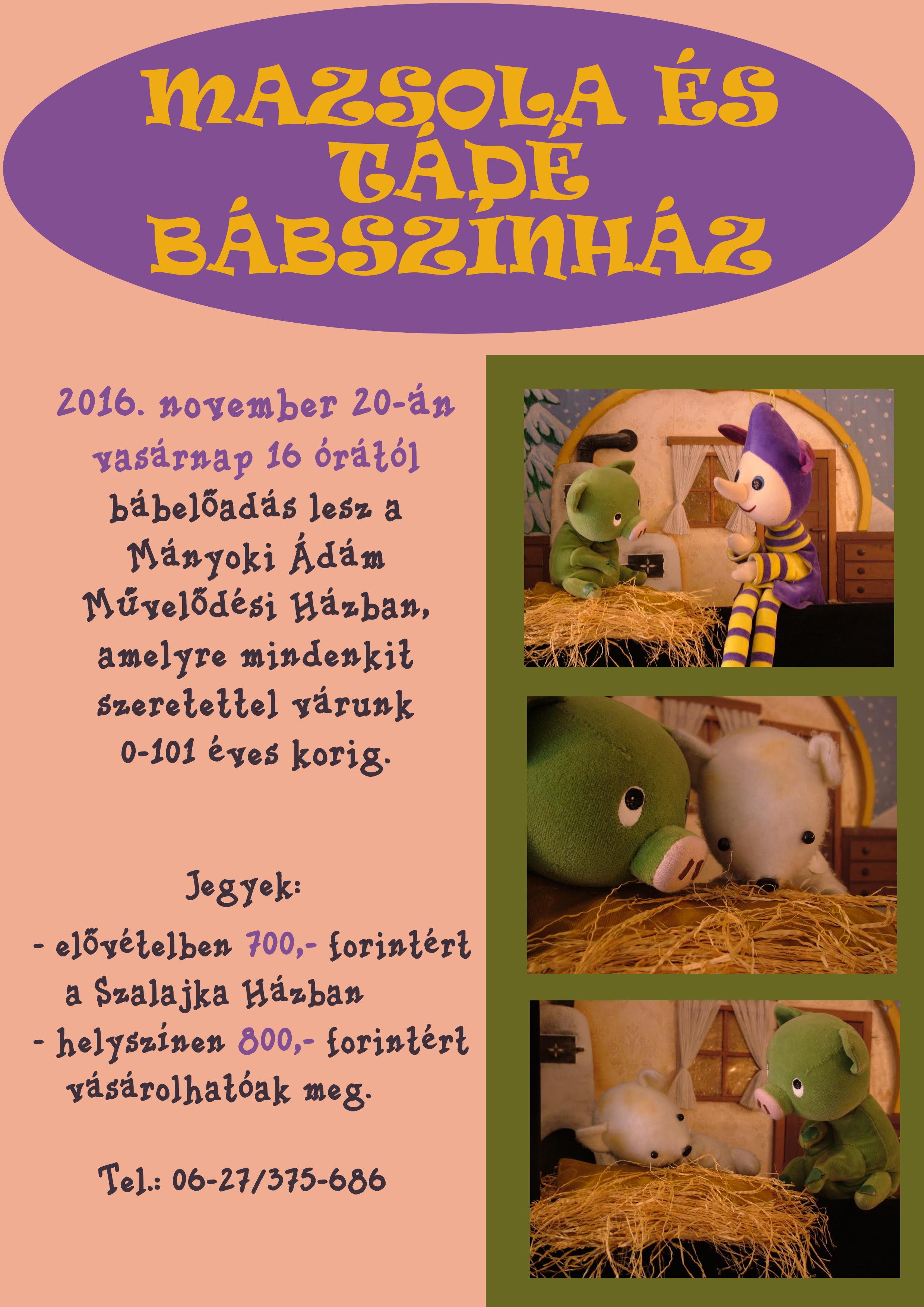 Mazsola és tádé plakát
