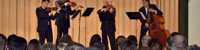 Újévi Zenés Vendégség a Lanner Kvartettel